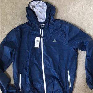 Lacoste men's spray jacket size 8 or 3XL